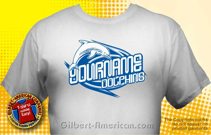 Dolphins T Shirt MDO 1009
