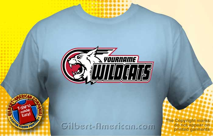 wildcats t shirt mwc 3002 school t shirt design ideas - School Spirit T Shirt Design Ideas