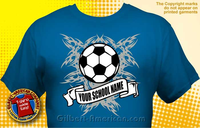 soccer team t shirt soc 3002
