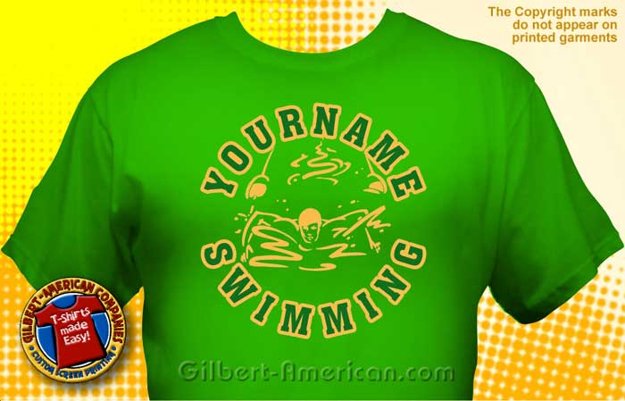 Swimming & Swim Team T-Shirt Design Ideas :: School Spirit, FREE ...