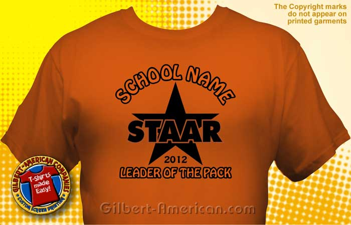 texas staar t shirt tst 1008 - School T Shirts Design Ideas
