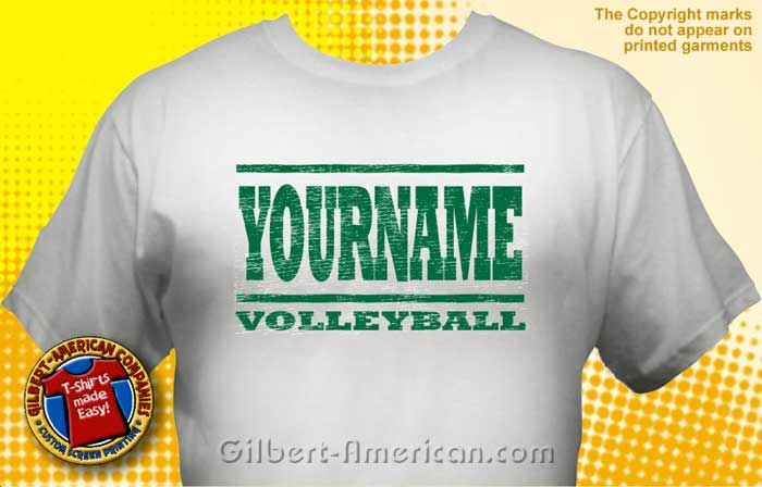 volleyball team t shirt vlb 1003