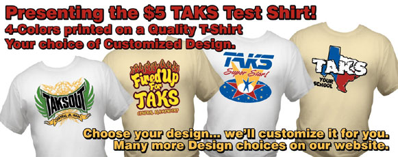 Click Now to see more TAKS Designs